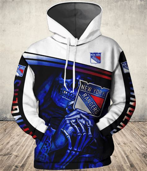 Nhl – New York Rangers 3d Hoodie Style 06 - GroveBlankets