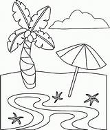 Coloring Beach Pages Printable Plage Fun Dessin Sheets Colorier Disney Summer Coloriage Sheet Maternelle Preschoolers Beaches Imprimer Together Para Fantasi sketch template
