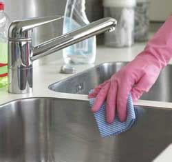how to clean the kitchen sink how to clean the kitchen sink brand nu janitorial 8586