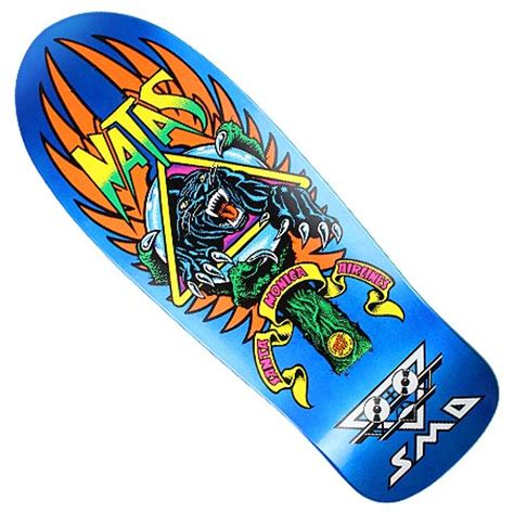 Natas Kaupas Deck Reissue by Santa Sma Natas Panther 3 Reissue Deck In Stock At