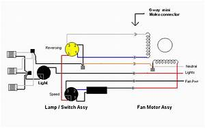 Perfect Hampton Bay Ceiling Fan Electrical Wiring Diagram