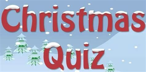 Christmas Quiz Intandridge