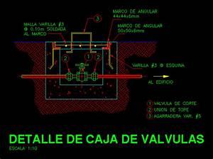 valve box detail dwg detail for autocad designs cad