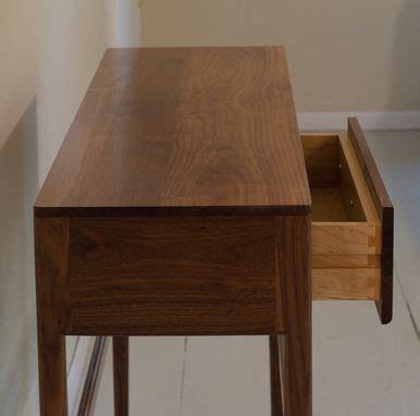 custom danish mid century modern style console table