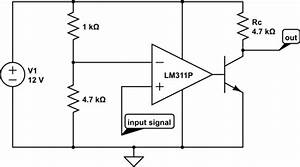 current why is this comparator loading down a voltage With voltage divider