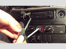 How to Remove and Replace a Car Stereo Radio Panasonic