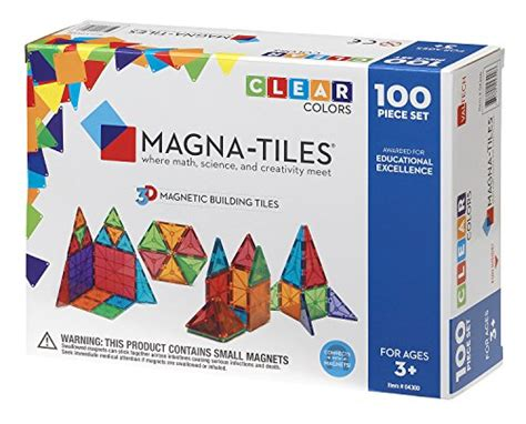 magna tiles clear colors 100 piece set in the uae see
