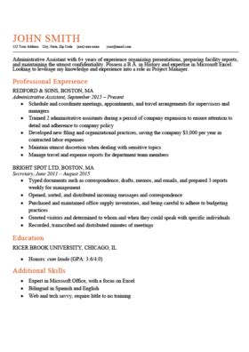 Work Resume Template by Free Resume Templates For Word Resume Genius