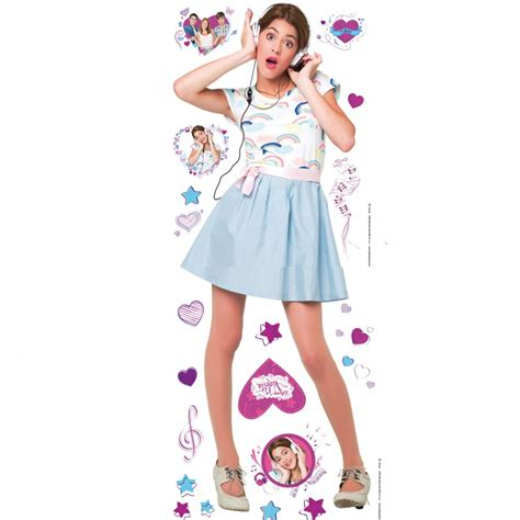 chambre de violetta violetta lifesize stickers great kidsbedrooms the