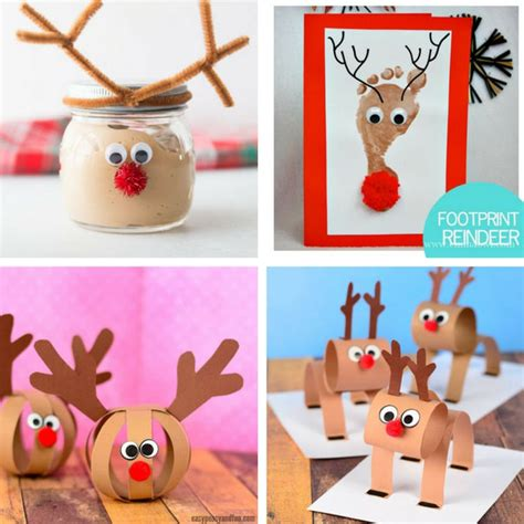 50 crafts for the best ideas for 596 | Reindeer Crafts for Kids