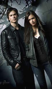 damon salvatore & elena gilbert - The Vampire Diaries ...