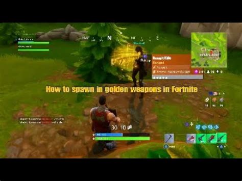 spawn  golden weapons  fortnite easy wins