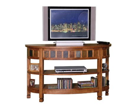 rustic tv console table rustic oak curved entry tv console table console table