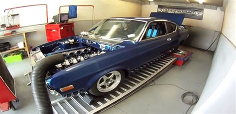 6-rotor Wankel Engine Gets Stuffed Into Mazda Rx-4
