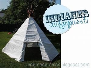 Zelt Der Indianer : tipi zelt f r indianer tutorial m dchen jungen kinder accessoires kram freebooks ~ Watch28wear.com Haus und Dekorationen