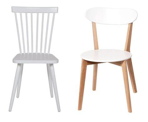 chaise bois blanc 17 idées déco de chaises en bois esprit scandinave