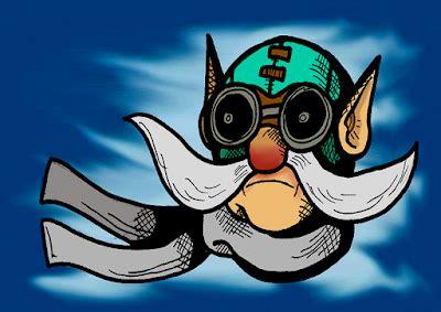 cerita hero hero dota  gyrocopter ilmuwan  genius