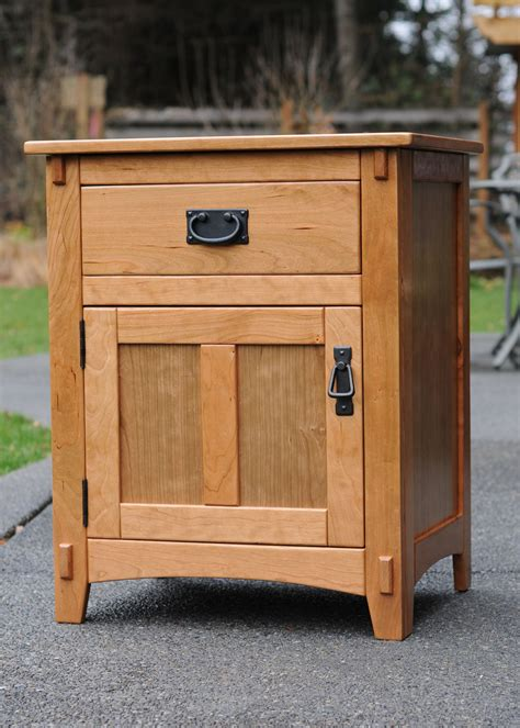 cherry night stand kreg owners community woodworking projects pinterest night stand
