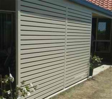 aluminium fencing  privacy solutions aspley