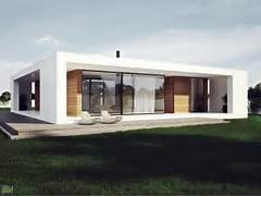 Minimalist One Storey House With Modern Art Modern Single Storey Houses Know What You Should Do Home Design More
