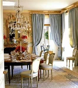 Rideaux Salle à Manger : la salle manger romantique se d cline en 27 exemples ~ Dailycaller-alerts.com Idées de Décoration