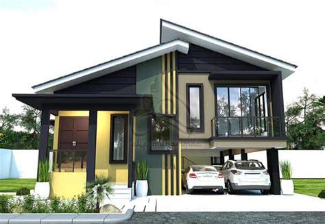 rumah kampung moden desainrumahidcom