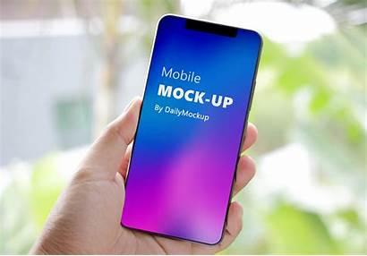Mockup Psd Mobile Phone Branding Dailymockup