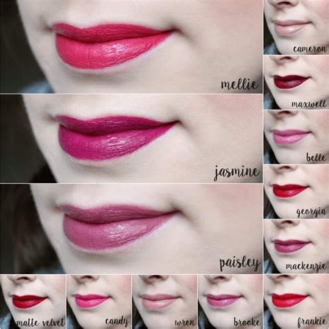 zoya lipsticks complete collection  feminine files