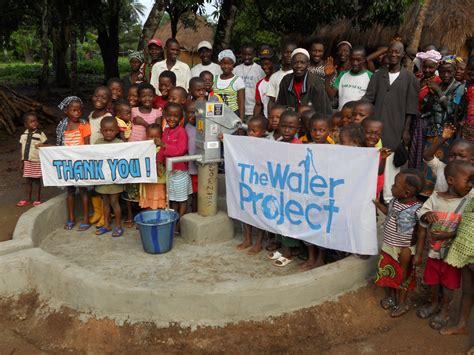 The Water Project Sierra Leone Makeni Well Rehabilitation