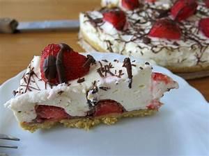 Torte Mit Erdbeeren : frischk se torte mit erdbeeren und schokolade wtf ~ Lizthompson.info Haus und Dekorationen