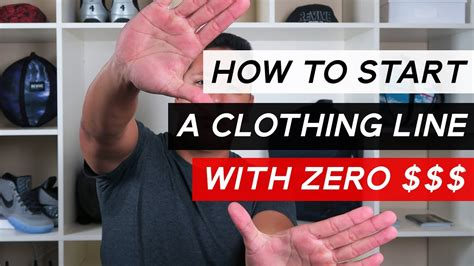How To Start A Clothing Line With No Money For Products