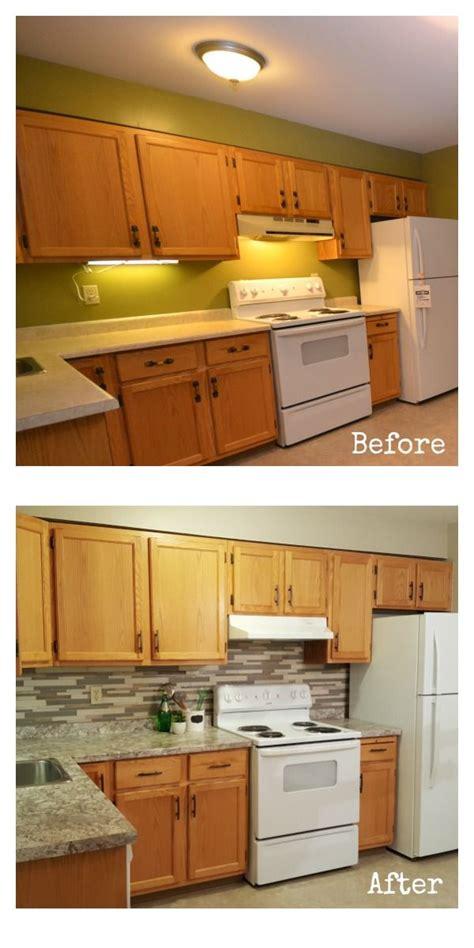 oak cabinet kitchen makeover best 25 oak cabinet makeovers ideas on oak 3560
