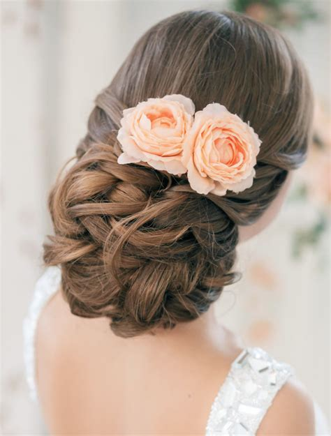 Elegant Wedding Hairstyles Part Ii Bridal Updos Tulle