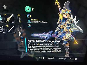 Did I find the strongest Royal Guard's Claymore? : Breath ...
