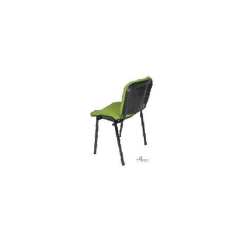 chaise visiteur tissu ds10 sans accoudoir pieds noir 4mepro