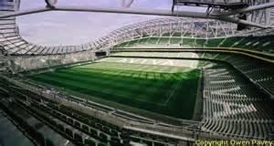 Aviva Stadium Stands by Aviva Stadium Dublin Football Ground Guide