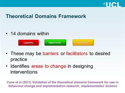 theoretical framework  understanding health provider behavior ucsf gladstone center
