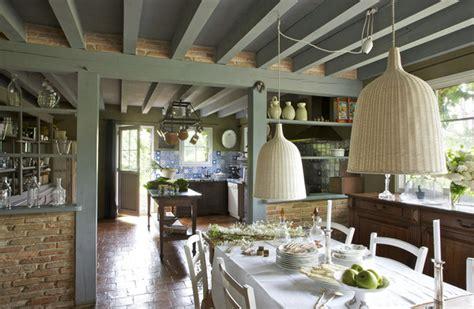table et chaises cuisine rêve de cagne orientaliste en haute lande galerie