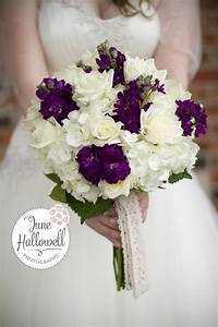 Dill's Summer Romance Plum and White Rose and Hydrangea