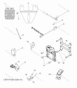 Polaris Side By Side 2014 Oem Parts Diagram For Electrical