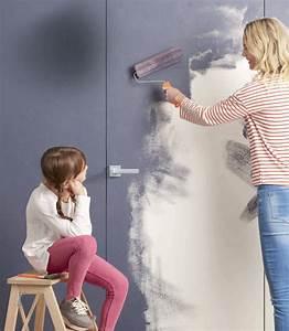 Innentüren Streichen Farbe : zimmert ren und w nde optisch verschmelzen lassen ton in ~ Lizthompson.info Haus und Dekorationen