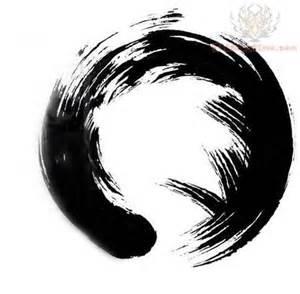 Zen Circle Symbol Tattoo