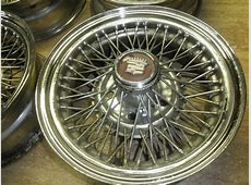 Buy Cadillac Wire Wheels 4 motorcycle in Southfield
