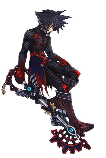 Vanitas Kingdom Hearts Birth By Sleep Character