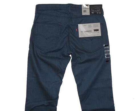 Levi's Men's 511 Skinny Commuter Pants With 4 Colors Nwt