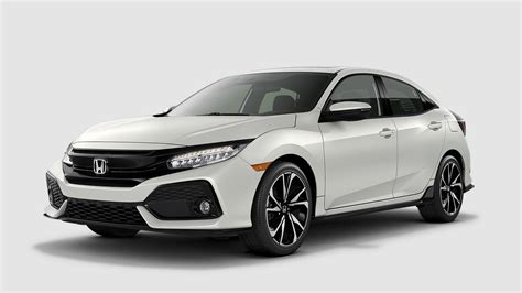 What Are The 2018 Honda Civic Hatchback Color Options?
