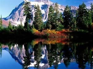Nature, Mountain, Lake, Reflection, Landscape, Hd, Wallpaper