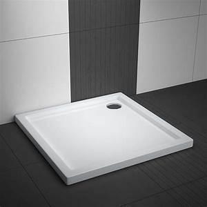 Bodengleiche Dusche Nachträglich Einbauen : flache duschwanne quadrat aquabad bodeneben 75 80 90 100 cm ~ A.2002-acura-tl-radio.info Haus und Dekorationen