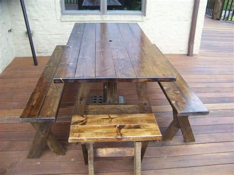 Picnic Table Dining Room Home Design Ideas Home Design