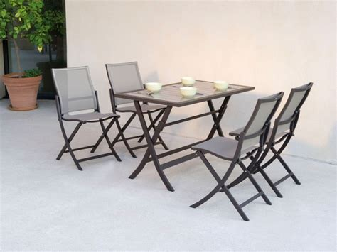 table pliante 4 chaises integrees table et chaise de jardin pas cher occasion advice for your home decoration